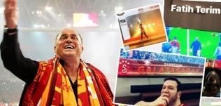 Ünlülerin Galatasaray çılgınlığı