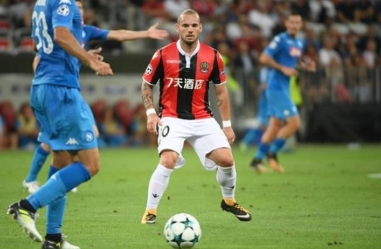 Fransa'da Sneijder için flaş karar