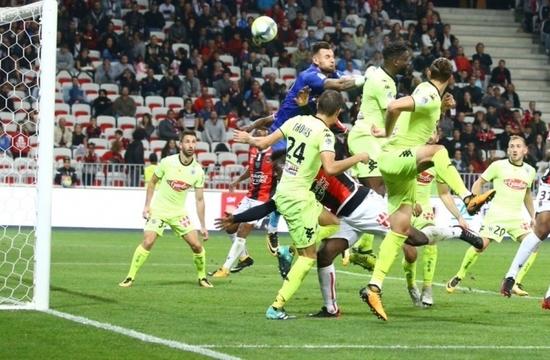 Sneijder oynamadı, Nice 2 puan bıraktı